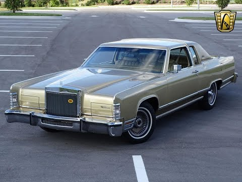 1979 Lincoln Continental Town Coupe Gateway Orlando #1011