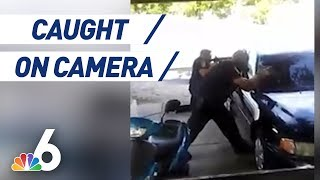 Raw Video: Scene of North Miami Beach Police Shooting of Unarmed Man | NBC 6