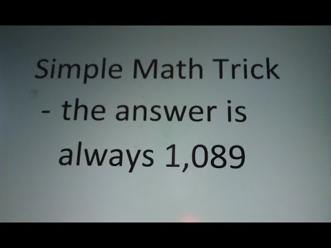 How To Do A Simple Math Trick