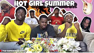 Download MeganThëëStallion - Hot Girl Summer ft. Nicki Minaj & TyDolla$ign [Official Video] *REACTION* Mp3 and Videos
