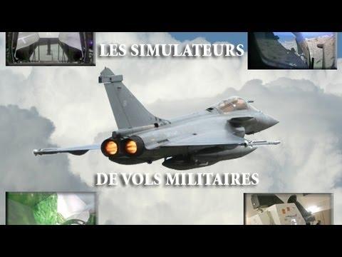 Simulateurs de combats aériens Rafale & Super-Etendard