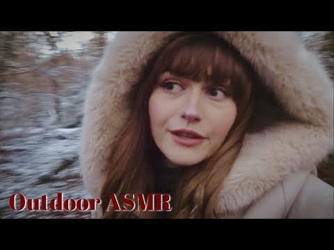 Christmas Outdoor ASMR ~ Crunchy Snow and Sunsets