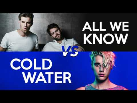 MASHUP - All We Know vs Cold Water (Chainsmokers, Justin Bieber, Major Lazer, MØ, Phoebe Ryan)