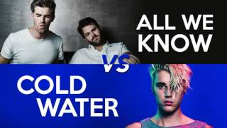 MASHUP #16: All We Know vs Cold Water (Chainsmokers, Justin Bieber, Major Lazer, MØ, Phoebe Ryan)