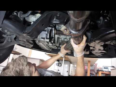 Saturn Vue Exhaust Removal & Oil Pan Replacement Instructional How To