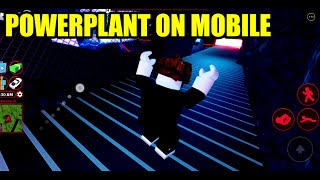 Can I ROB NEW POWERPLANT on MOBILE??? | Roblox Jailbreak