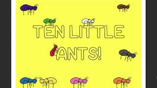 Ten little ants Song