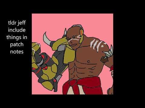 Doomfist patch Lucio wallride changes