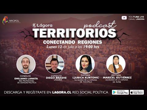 Podcast Territorio con Maricel Gutierrez y Ljubica Kurtovic - Alcadesas de Putre y Tocopilla