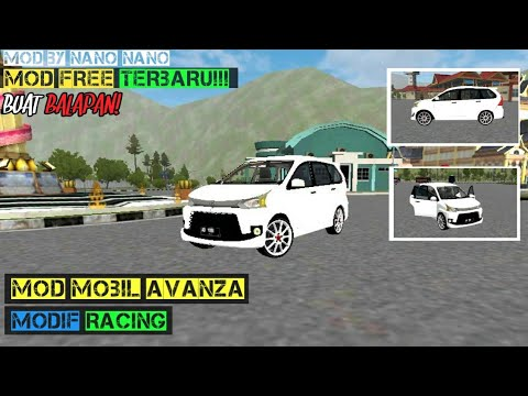 Mod Bussid Avanza Racing Free Download Youtube