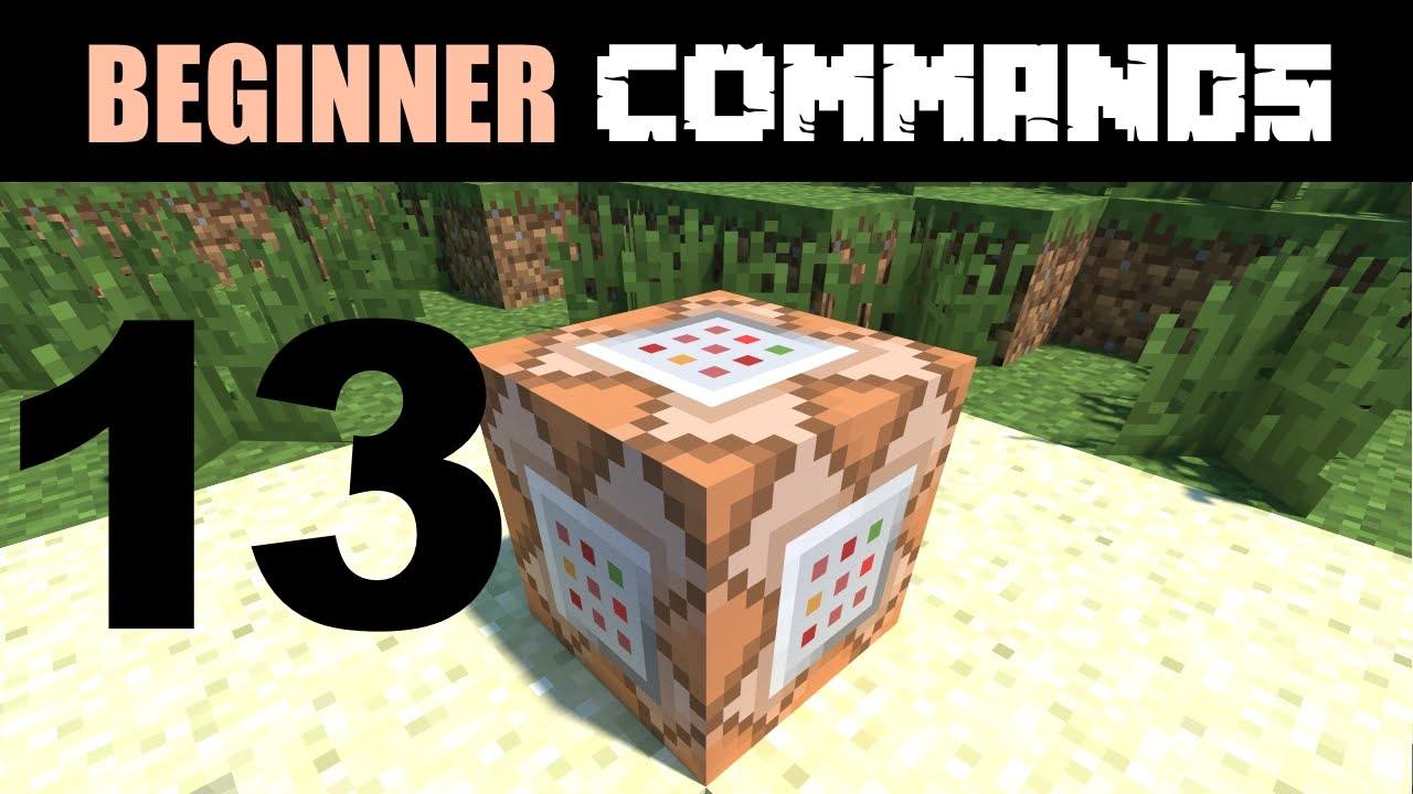 Beginner Command Block Tutorial Part 13 - Setting Data Tags & the Chunk  Format page