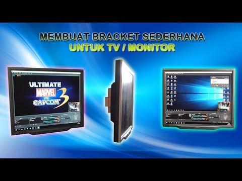 Membuat Bracket Kayu Sederhana Untuk TV / Monitor - Apitnet