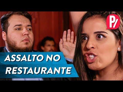 ASSALTO NO RESTAURANTE | PARAFERNALHA