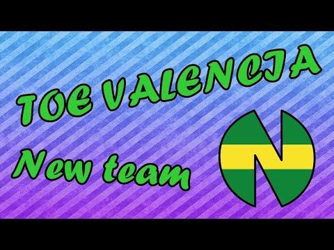 TOE VALENCIA: Comenzamos la aventura de New Team!!