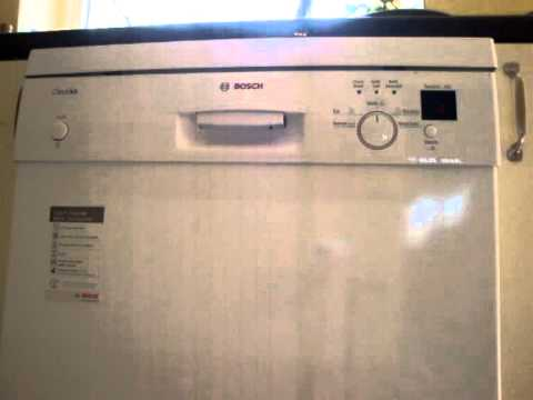 Bosch classixx dishwasher troubleshooting