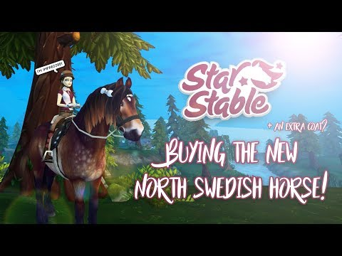 Buying the NEW North Swedish Horse! | #NSHLove | Star Stable Updates