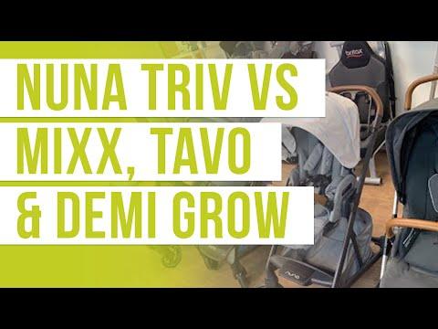 Nuna TRIV Stroller 2020 vs MIXX, DEMI Grow, TAVO | Stroller Comparison | Magic Beans Stroller Review