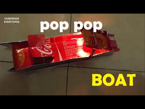 How to Make a Pop Pop Boat without using Glue | making toy