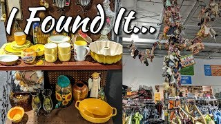Thrifting with Me+Home Decor Haul-Lot's Of Vintage Goodies-Project Thrift 52 Week 36