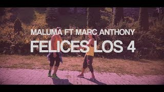 Maluma ft Marc Anthony Felices los 4 Salsa version