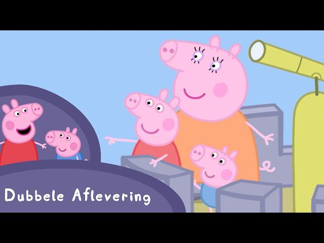 Peppa Pig Nederlands Compilatie Nieuwe Afleveringen | Het Windkasteel | Tekenfilm | Peppa de Big