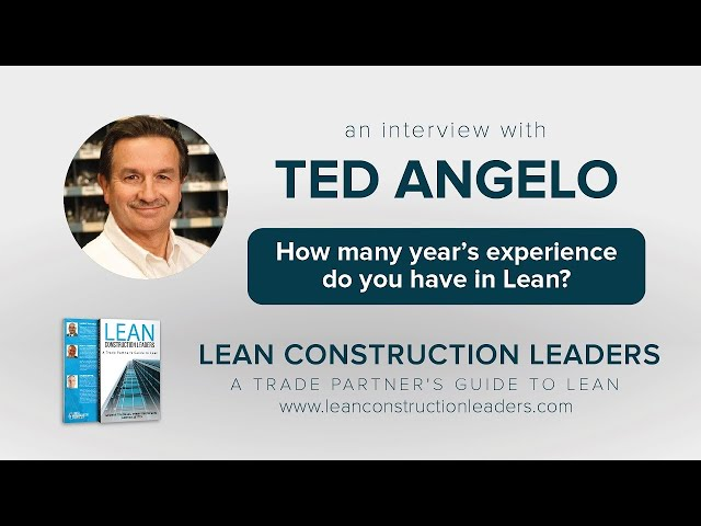 How many year's experience do you have in Lean?