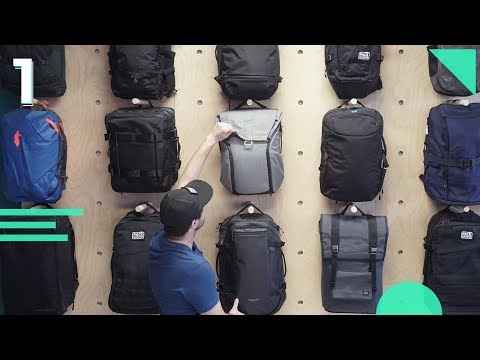 How To Choose The Best Travel Backpack | Part 1: Intro | The Right One Bag Carry-On Pack For You