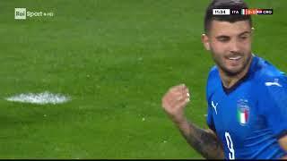 Calcio Nazionale Under 21  amichevole  ITALIA   Croazia 2 - 2