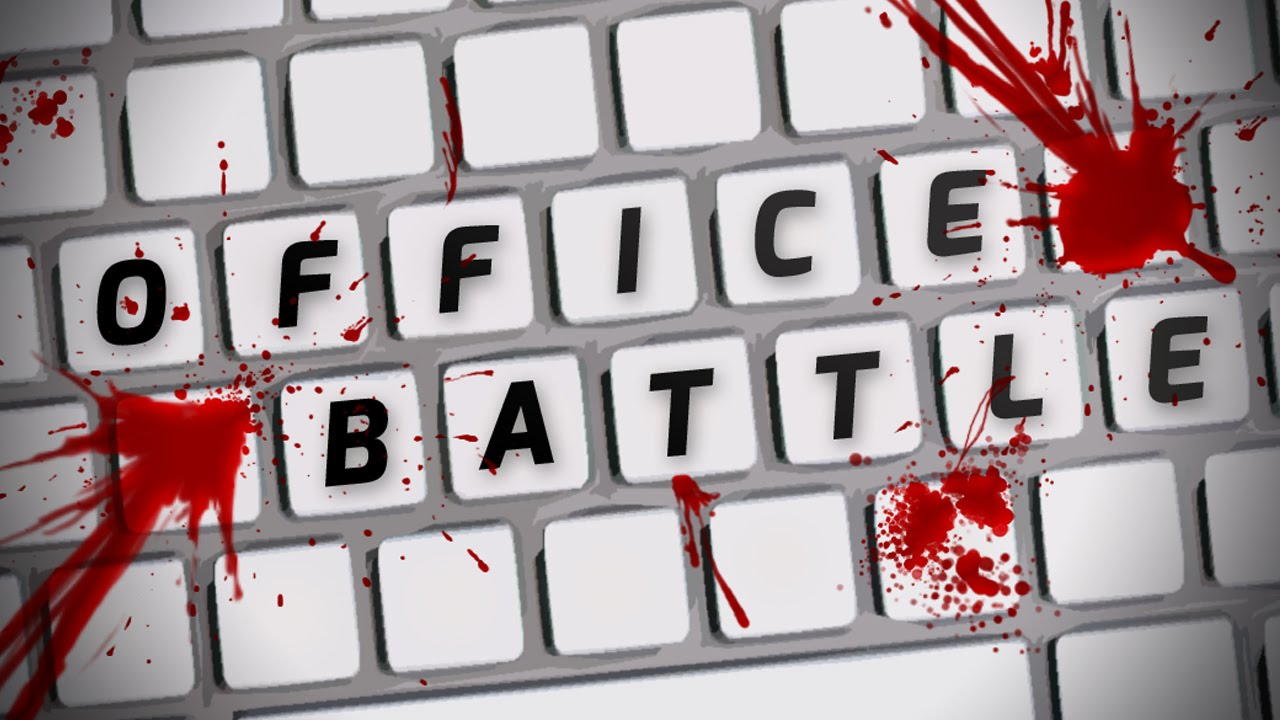 Game for coworkers - Office Battle Indie Game Bashing Your Coworkers Office Battle Weird Indie Game
