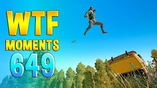 PUBG WTF Funny Daily Moments Highlights Ep 649