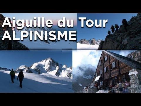 Aiguille du Tour voie Normale via Champex refuge Plateau de Trient le Tour alpinisme randonnée