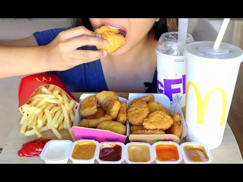 asmr-mcdonald's-chicken-mcnuggets-*eating-sounds*