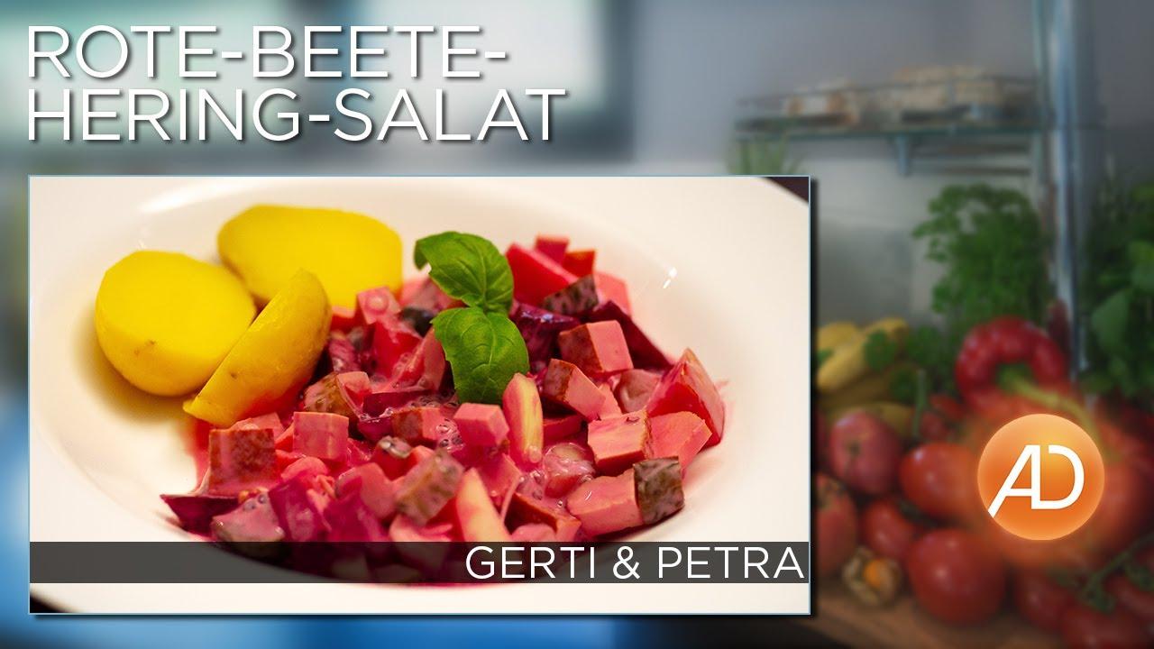 Rote Beete Hering Salat Ad Kochstudio Gerti Benckendorff Youtube