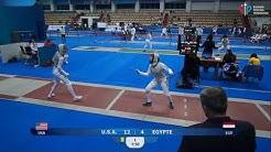 Foil of Kazan 2020, Team, T16 Egypt - USA