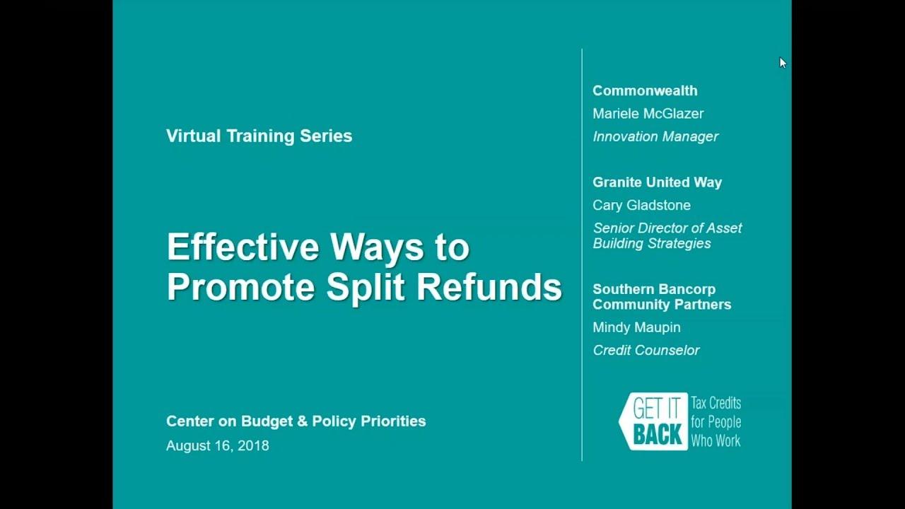 Effective Ways to Promote Split Refunds