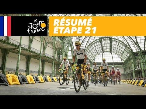 Résumé - Étape 21 - Tour de France 2017