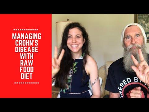 dan the man raw food diet and crohns