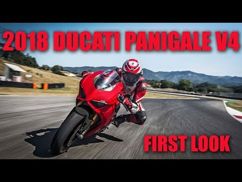2018 Ducati Panigale V4 at the 2017 EICMA Show