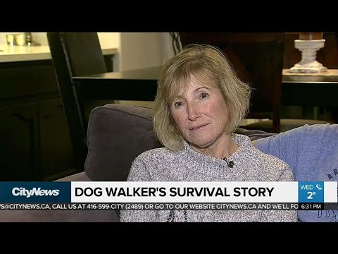 Dog walker lost in woods for 3 days shares her story