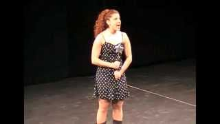 "Hannah Dubner performs ""Screw Loose"" from the musical Cry Baby"