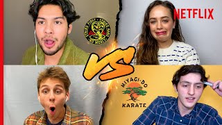 The Cobra Kai Cast's Epic Quiz Battle (Play Along At Home!)
