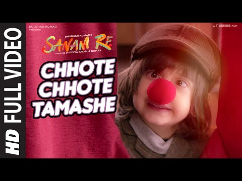 Chhote Chhote Tamashe FULL VIDEO SONG | Sanam Re | Rishi Kapoor, Neel | Divya Khosla Kumar