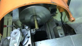 Ремонт центрифуги очистки масла Scania (замена втулок)
