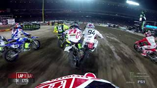GoPro Cole Seely Main Event 2018 Monster Energy Supercross from Anaheim