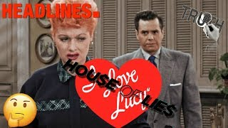 LUCILLE BALL and DESI ARNAZ- Lies and Deception, Was is it Really Love?