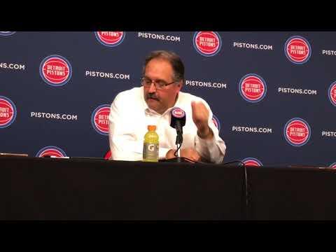 Stan Van Gundy: Three things cost Pistons