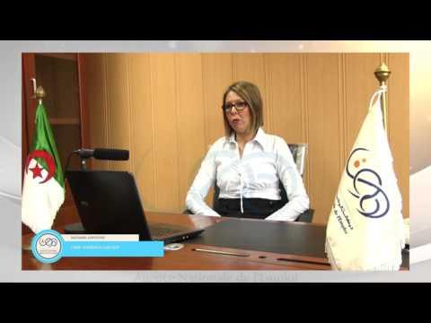 Interview de Madame ADDOUN Chef de l'agence Cadres Supérieurs d'ALGER ANEM