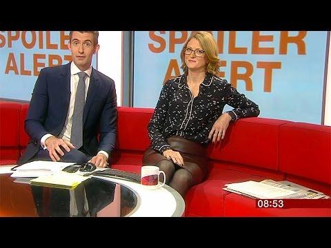 Upskirt gosling news Tv