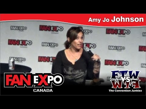 Amy Jo Johnson (The Pink Ranger / Power Rangers) FAN eXpo Canada 2017 Q&A Panel