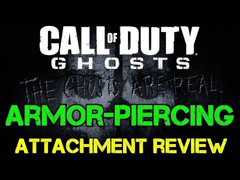 Ghosts Tactical - Armor-Piercing Weapon Attachment Review